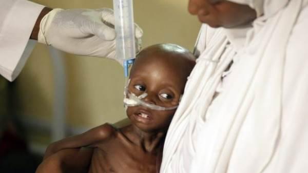 75.000 trẻ em có nguy cơ chết đói ở Nigeria - Ảnh 1