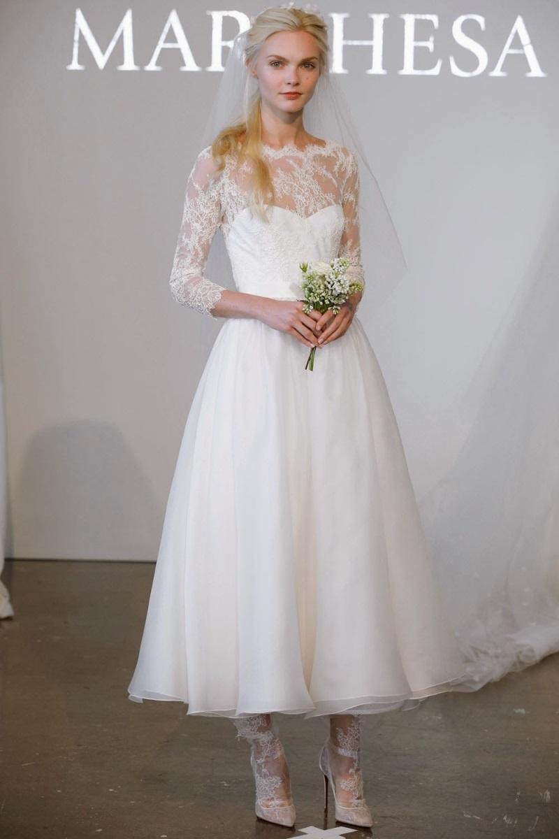 Váy cưới ngắn - xu hướng mới cho mùa cưới năm nay - Ảnh 4