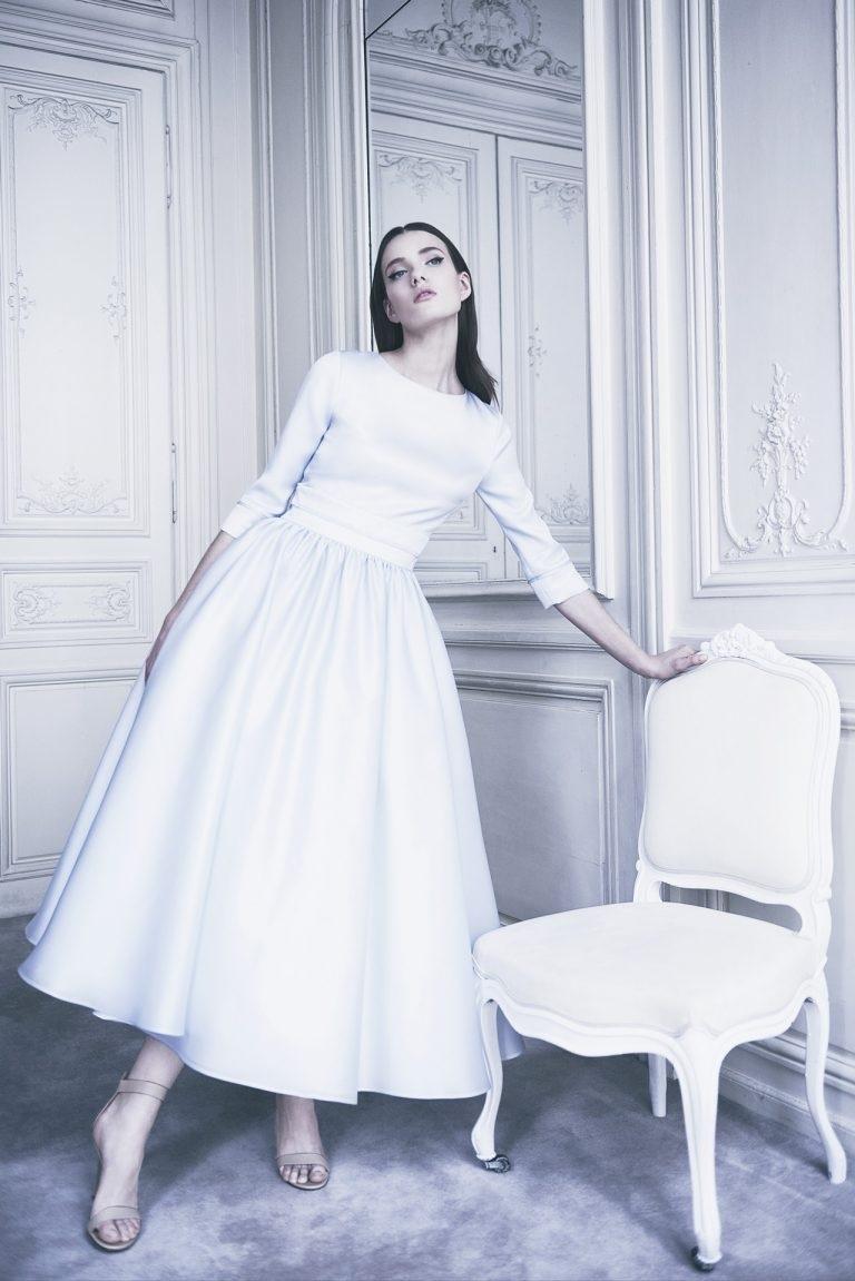 Váy cưới ngắn - xu hướng mới cho mùa cưới năm nay - Ảnh 7