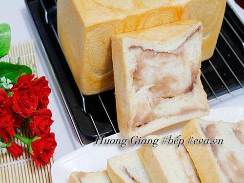 Bữa sáng nhẹ nhàng với bánh mì gối nhân khoai môn - Ảnh 9