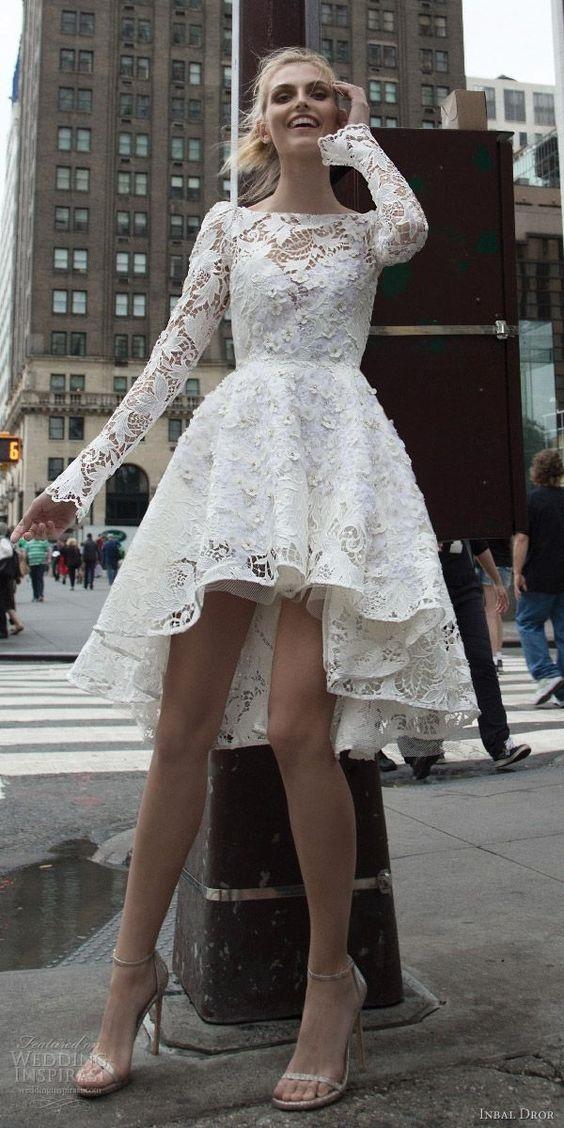 Váy cưới ngắn - xu hướng mới cho mùa cưới năm nay - Ảnh 12