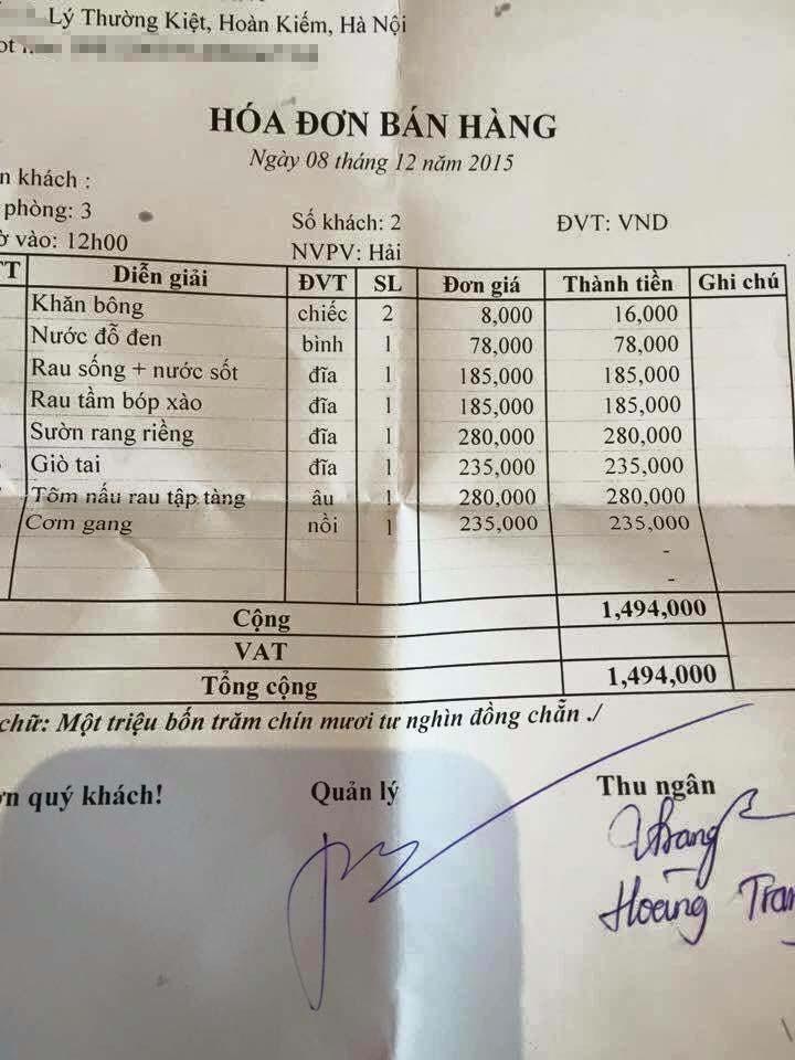 Bữa cơm có rau và trứng giá 130.000 đồng gây tranh cãi sục sôi - Ảnh 3