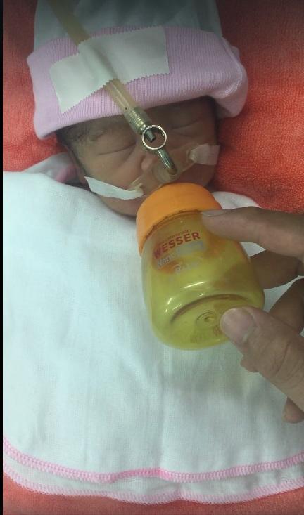 Sản phụ xinh đẹp bất ngờ bị xuất huyết não, chồng và con gái mới sinh kiên cường giúp vợ chiến đấu với tử thần - Ảnh 3