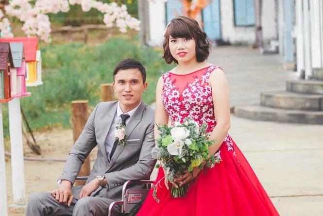 Bị gia đình ngăn cản, cô gái xinh đẹp và chàng trai liệt nửa người vẫn quyết kết hôn - Ảnh 4