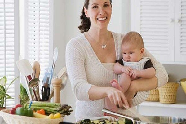 Sau khi sinh bạn cần có bí quyết giảm cân an toàn