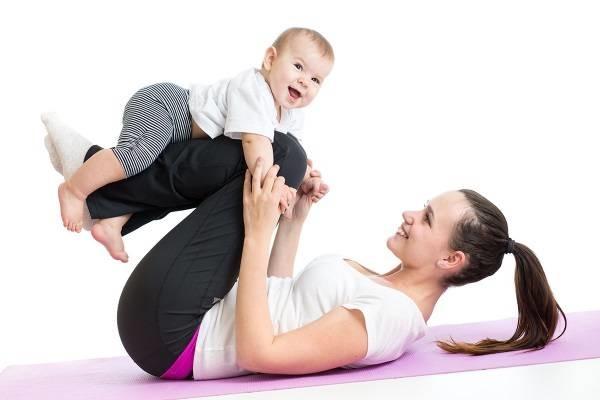 Rèn luyện thân thể là bí kíp giảm cân an toàn sau sinh