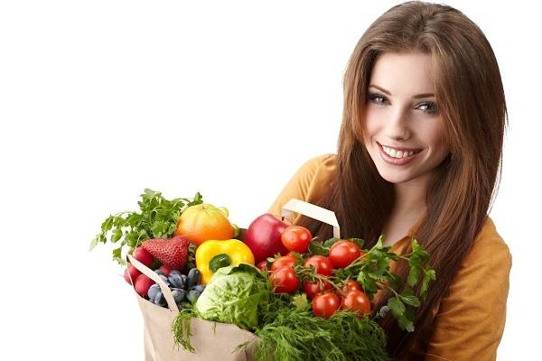 Chế độ ăn uống nhiều rau củ giúp giảm cân sau sinh hiệu quả