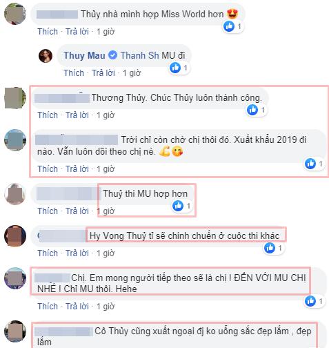 Hoàng Thùy chính thức chinh chiến Miss Universe 2019 - Mâu Thủy khiến fans gào thét, năn nỉ đi thi quốc tế - Ảnh 8