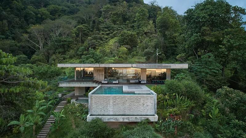 Biệt thự đậm chất nghệ thuật ở Costa Rica - Ảnh 1