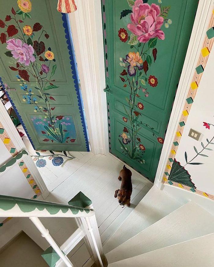 Nghệ sĩ Pháp trang trí nhà đẹp như cổ tích trong thời gian cách ly xã hội - Ảnh 8