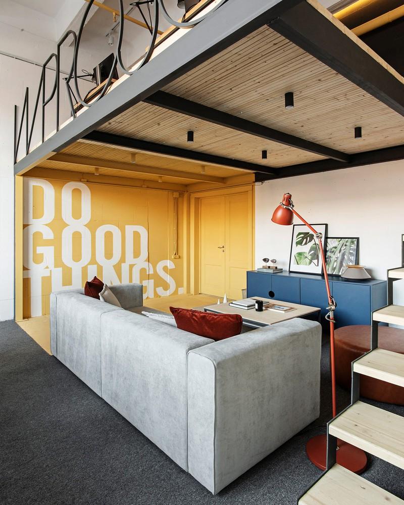 Văn phòng làm việc lấy cảm hứng từ nhà ở tư nhân - Ảnh 5