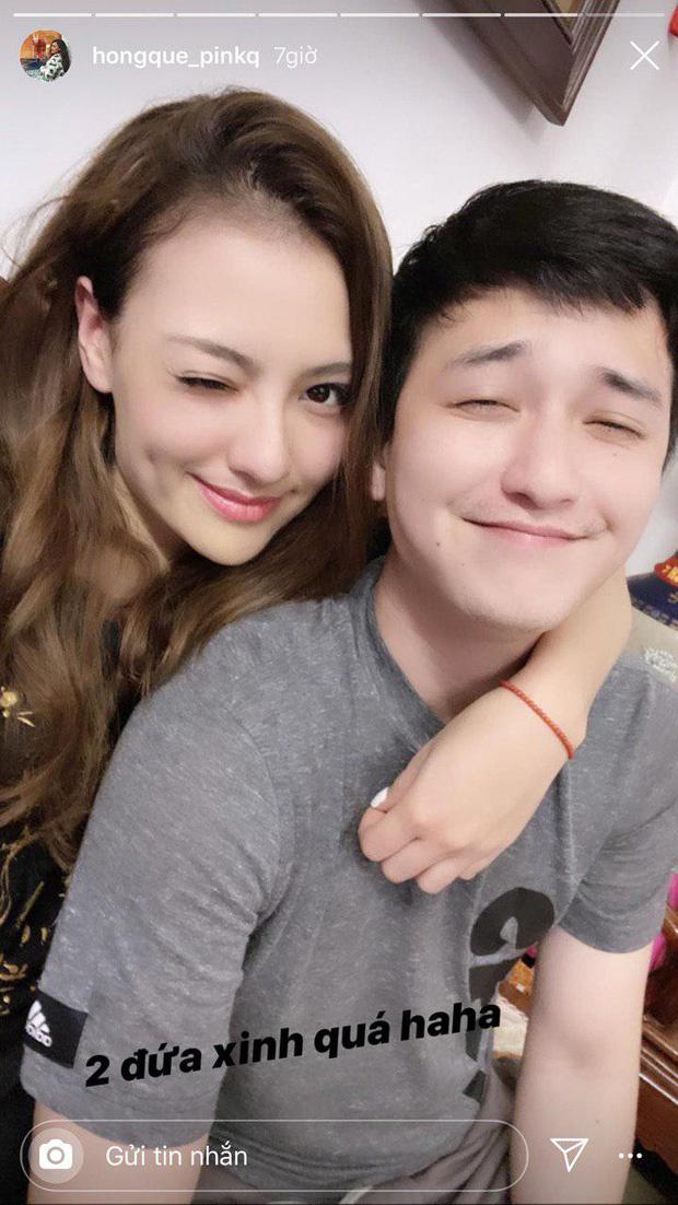 Hồng Quế đăng ảnh tình cảm với Huỳnh Anh sau nghi vấn hẹn hò - Ảnh 1