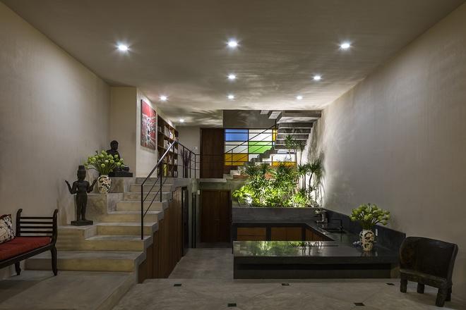 Ngôi nhà ở thành phố với mặt tiền xanh mướt - Ảnh 5