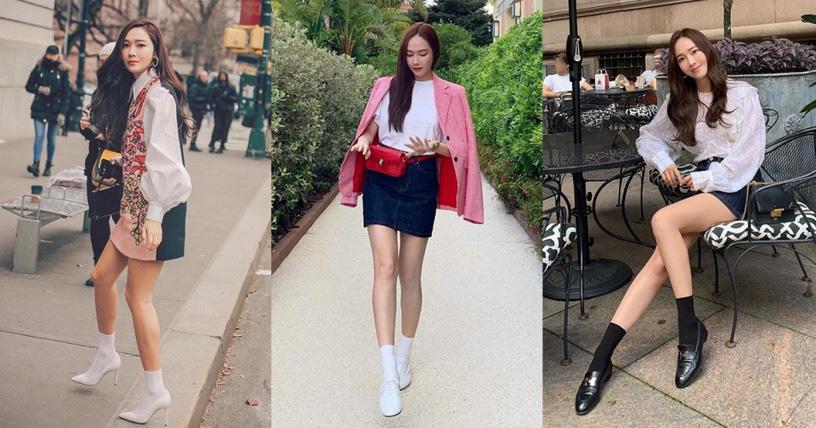 Chỉ cần chú trọng vào việc chọn giày thôi, Jessica khiến ai nấy đều bái phục vì khả năng hack chiều cao - Ảnh 3