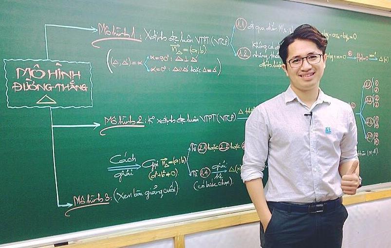 """4 thầy giáo dạy Toán """"hot"""" MXH: Người từ bỏ công việc IT, người đam mê diễn xuất - Ảnh 6"""
