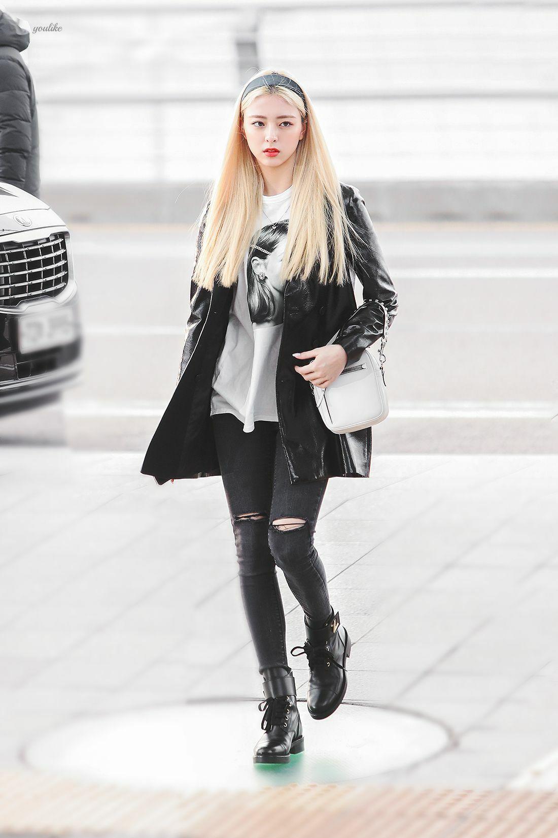 Những set đồ nữ sinh chuẩn high teen của idol Hàn - Ảnh 11