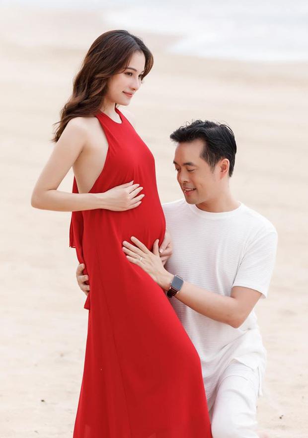 Vợ chồng Dương Khắc Linh - Sara Lưu xác nhận mang song thai - Ảnh 1