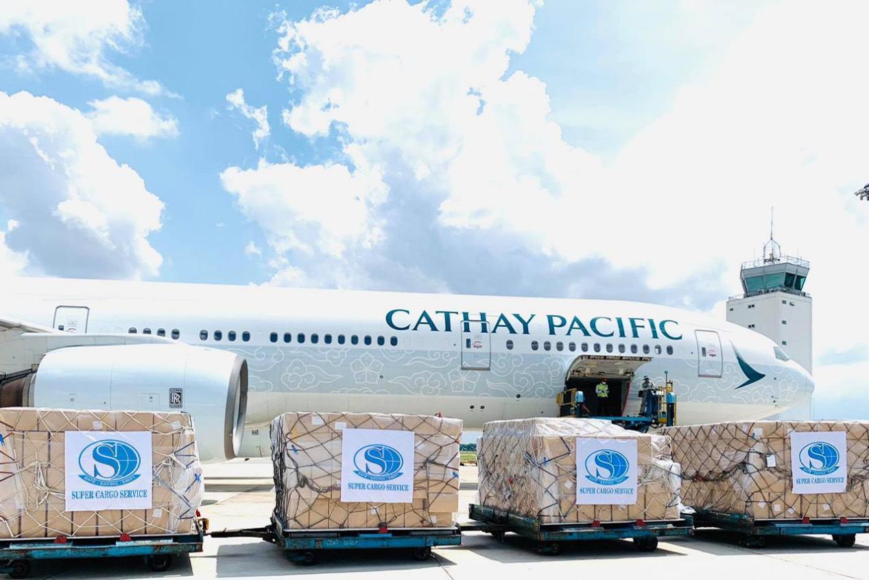 """8 chiếc máy bay đã hoàn thành """"sứ mệnh"""" chuyển hơn 5 triệu sản phẩm bảo hộ y tế của Việt Nam tới Mỹ - Ảnh 3"""