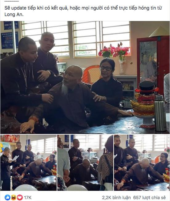 Xôn xao tin Tịnh thất Bồng Lai nuôi dưỡng 5 chú tiểu Thách Thức Danh Hài nguy cơ bị đóng cửa - Ảnh 1