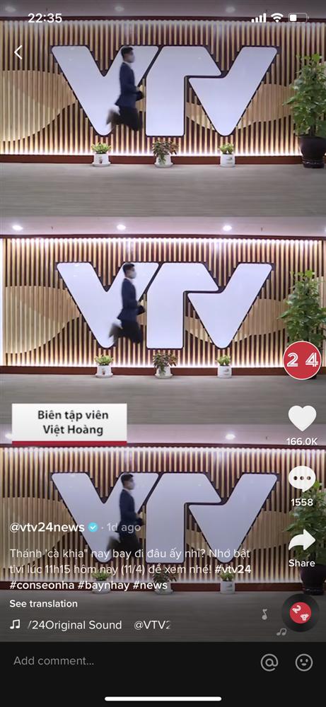 Giữa cái nắng cháy da thịt ở Hà Nội, BTV của VTV24 gây bão với màn dẫn chương trình cực mặn - Ảnh 3