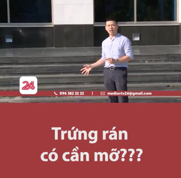 Giữa cái nắng cháy da thịt ở Hà Nội, BTV của VTV24 gây bão với màn dẫn chương trình cực mặn - Ảnh 1