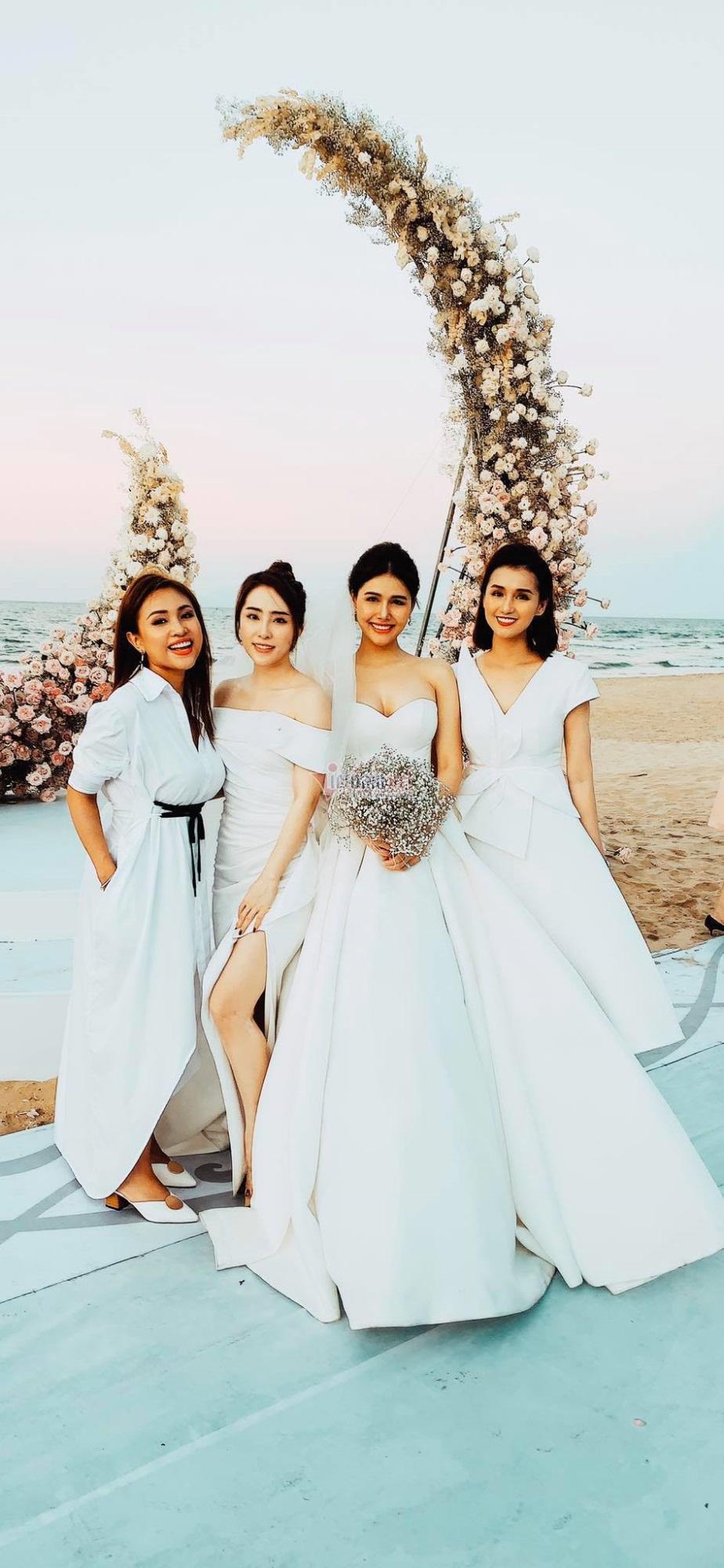 Bất ngờ trước sắc vóc 'đẹp trai hơi tài tử' của ông xã đại gia Phanh Lee tại đám cưới sang chảnh  - Ảnh 6