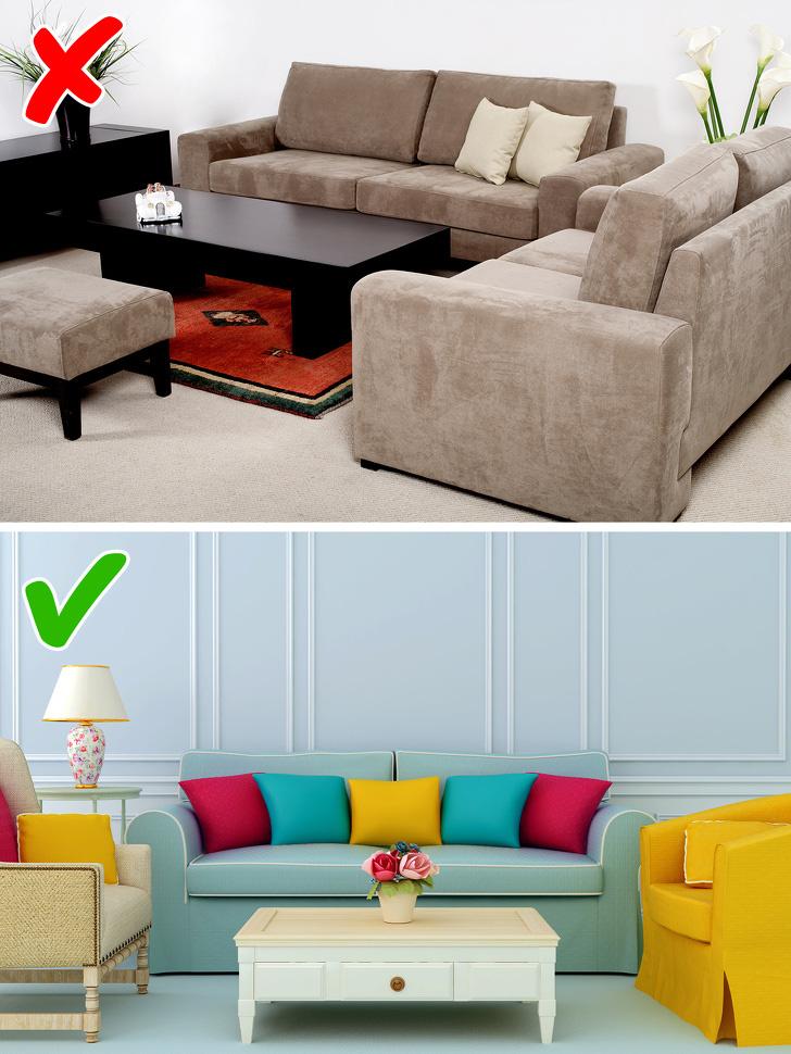 9 lời khuyên của các nhà thiết kế nội thất giúp bạn trang trí nhà chuẩn đẹp - Ảnh 2