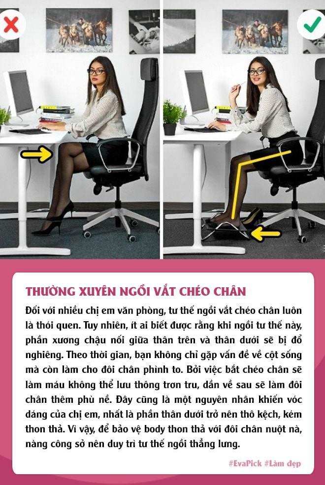 Chị em văn phòng có 6 thói quen sai lầm, không thay đổi ngay thể nào cũng phát tướng - Ảnh 5