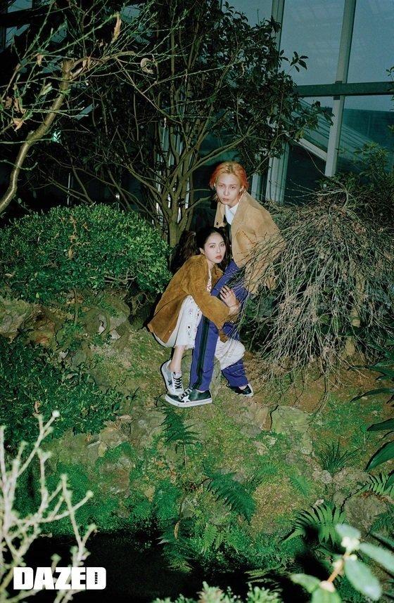 HyunA và bạn trai tạo dáng kỳ quặc trên tạp chí danh tiếng xứ Hàn - Ảnh 3