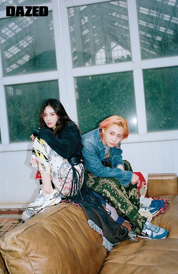 HyunA và bạn trai tạo dáng kỳ quặc trên tạp chí danh tiếng xứ Hàn - Ảnh 5