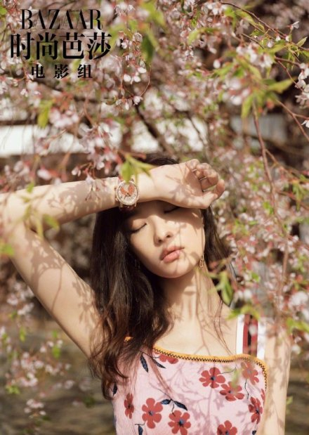 Khi các mỹ nhân Hoa ngữ đọ sắc bên hoa anh đào, ai xứng danh nữ thần? - Ảnh 3