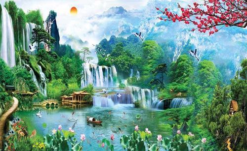Những bức tranh đánh thức Thần Tài, gia chủ chỉ việc ngồi rung đùi cũng thấy tiền đầy tay - Ảnh 2