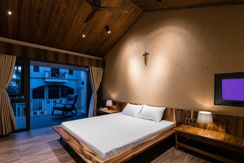 Ngôi nhà mái Thái mang phong cách truyền thống - Ảnh 11
