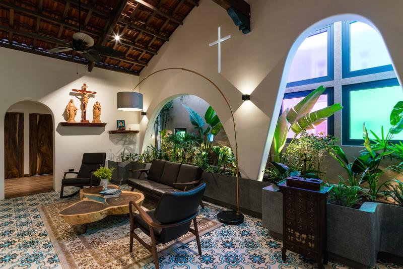 Ngôi nhà mái Thái mang phong cách truyền thống - Ảnh 3