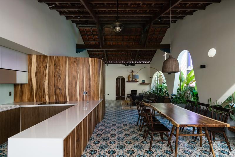 Ngôi nhà mái Thái mang phong cách truyền thống - Ảnh 4