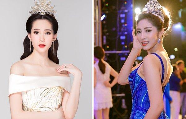 2 Hoa hậu miền Tây trùng họ tên: Nàng mang bầu kín như bưng, nàng khoe khắp facebook - Ảnh 1