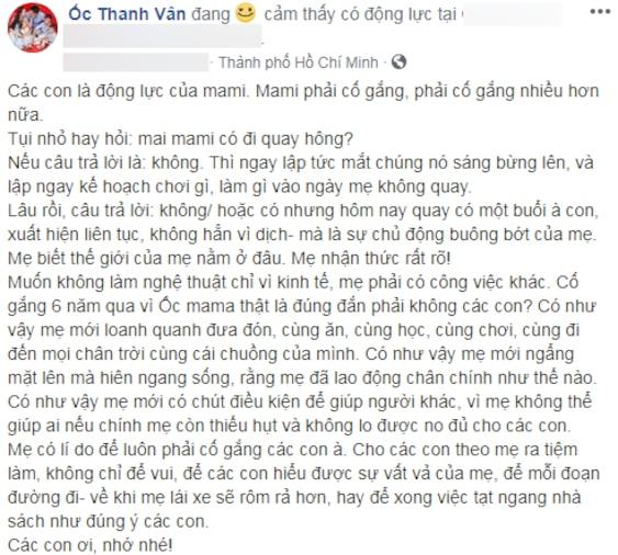 Ốc Thanh Vân ẩn ý đáp trả khi bị tố 'ăn chặn' tiền từ thiện, lợi dụng Mai Phương để PR - Ảnh 4