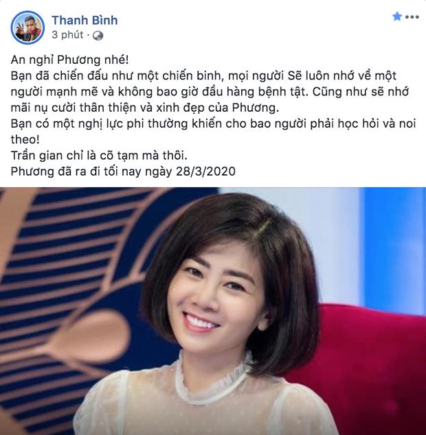 Dàn sao Việt nghẹn thở như chết lặng khi nghe tin diễn viên Mai Phương qua đời - Ảnh 3