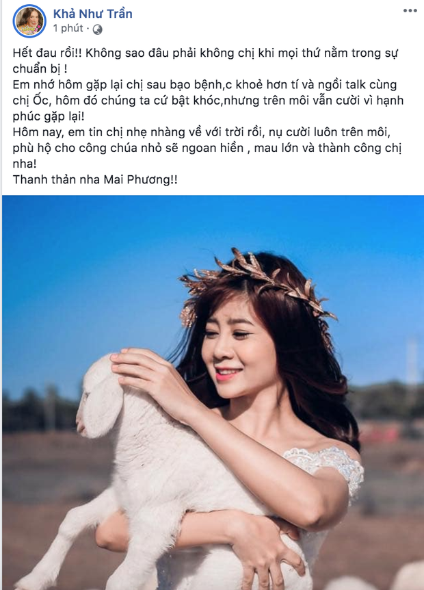 Dàn sao Việt nghẹn thở như chết lặng khi nghe tin diễn viên Mai Phương qua đời - Ảnh 7