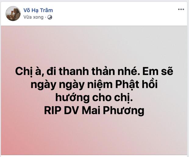 Dàn sao Việt nghẹn thở như chết lặng khi nghe tin diễn viên Mai Phương qua đời - Ảnh 9