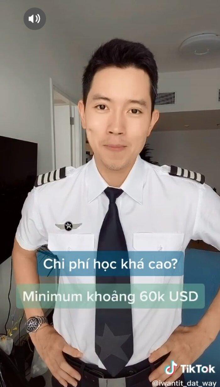Cơ trưởng đẹp trai nhất Việt Nam gây 'choáng' khi hé lộ thu nhập 'không phải dạng vừa' của nghề phi công - Ảnh 3