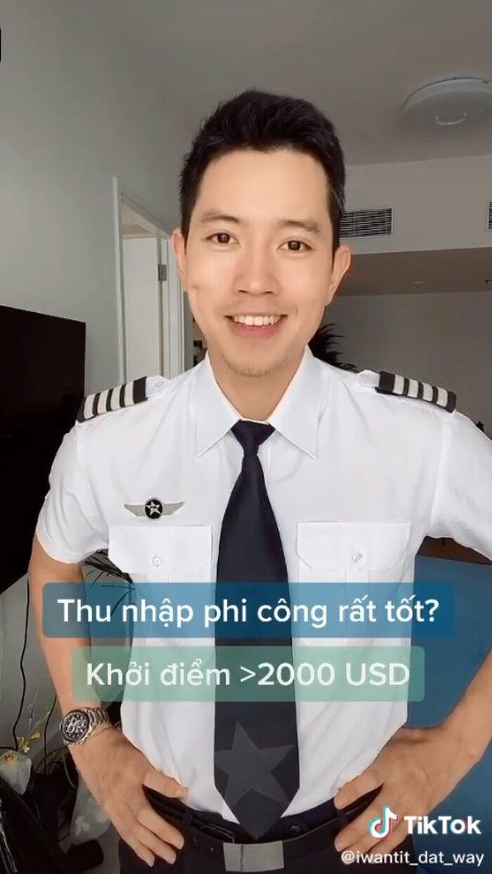 Cơ trưởng đẹp trai nhất Việt Nam gây 'choáng' khi hé lộ thu nhập 'không phải dạng vừa' của nghề phi công - Ảnh 4