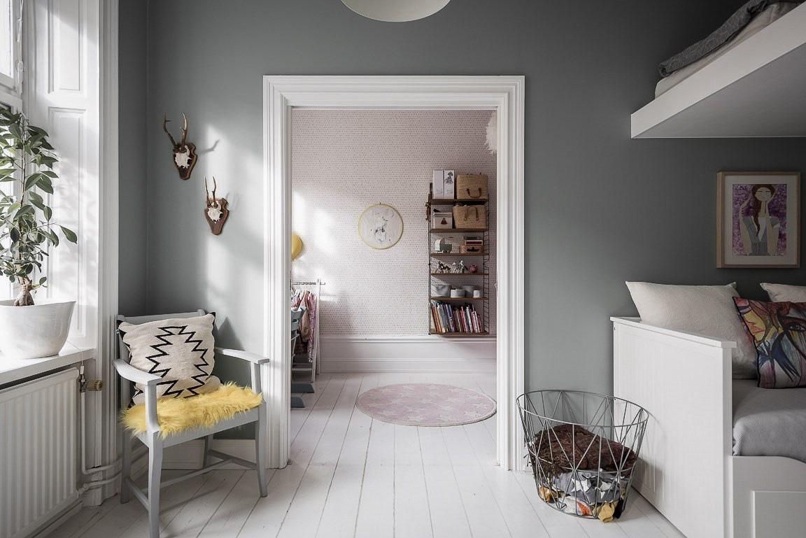 Căn hộ rộng 73m² sáng bừng với tông màu hồng phấn ngọt ngào đan xen nét cổ điển đặc trưng - Ảnh 11