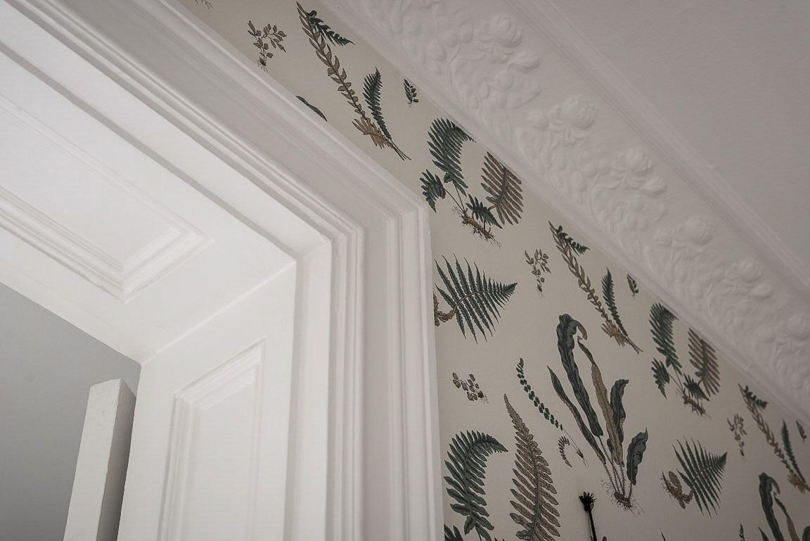 Căn hộ rộng 73m² sáng bừng với tông màu hồng phấn ngọt ngào đan xen nét cổ điển đặc trưng - Ảnh 9