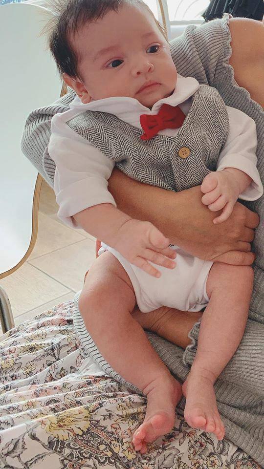 5 nhóc tỳ con lai cực đáng yêu của sao Việt, bé thứ 3 khiến ai cũng để ý - Ảnh 14