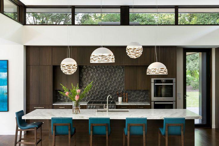12 thiết kế căn bếp hiện đại đẹp sang trọng và gọn gàng - Ảnh 2
