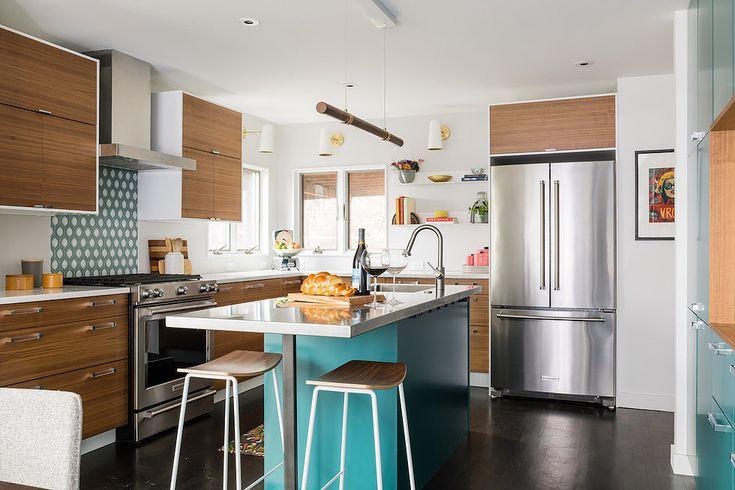 12 thiết kế căn bếp hiện đại đẹp sang trọng và gọn gàng - Ảnh 3