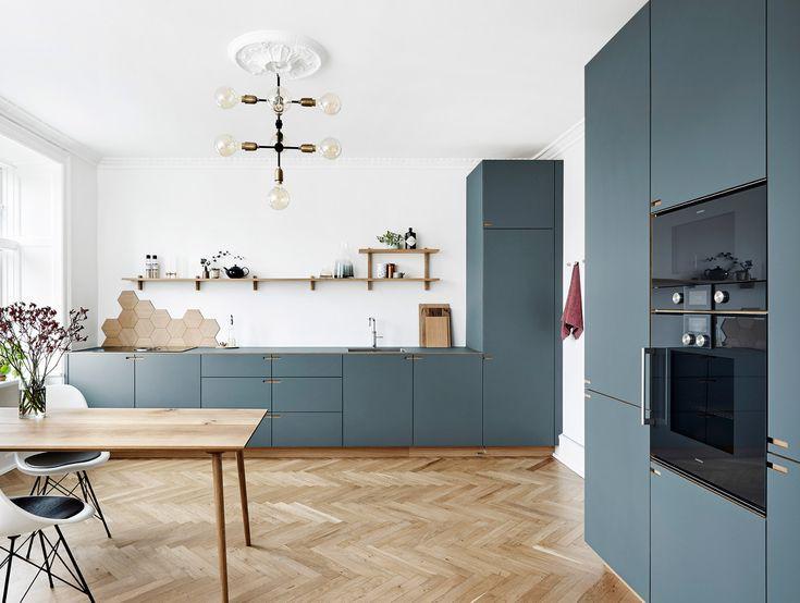 12 thiết kế căn bếp hiện đại đẹp sang trọng và gọn gàng - Ảnh 1