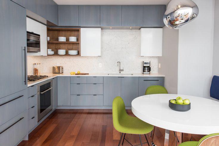 12 thiết kế căn bếp hiện đại đẹp sang trọng và gọn gàng - Ảnh 4
