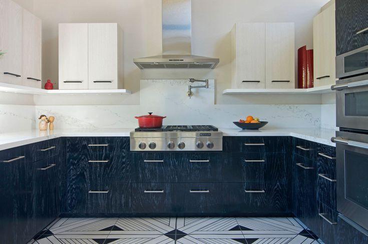 12 thiết kế căn bếp hiện đại đẹp sang trọng và gọn gàng - Ảnh 5